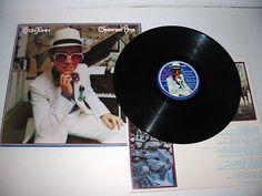 "ELTON JOHN ""GREATEST HITS"" MCA Vinyl LP Record 33 1/3 FREE S/H!"