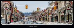 Dundas, Ontario Hamilton Ontario Canada, Dundas Ontario, Street View, City, Places, Collections, Steel, Beautiful, Cities
