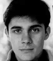 young David Suchet
