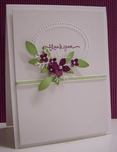 Stamping with Loll: Framed Flowers