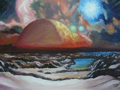 "\""Planetas cercanos\"" de Mihai Balica @ VirtualGallery.com"