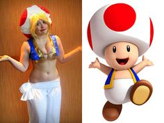 Toad (Super Mario Bros.) - Cosplay of the Day