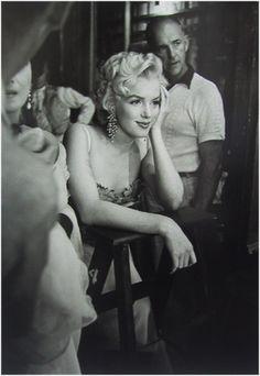 Ed Fergeinst, Marilyn Monroe, 1955