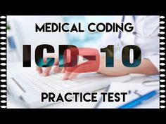 ICD 10 Practice Question – Medical Coding Practice Test – Video – Best Art images in 2019 Medical Coding Certification, Medical Coding Training, Medical Coder, Medical Billing And Coding, Medical Assistant, Technology Careers, Medical Technology, Technology Design, Coding Jobs