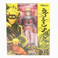 Naruto Shippuden SHFiguarts Action Figures (Uzumaki, Sasuke, Kakashi)