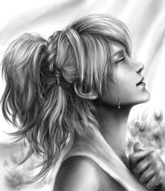Lunafreya by Xieryth on DeviantArt Noctis Final Fantasy, Final Fantasy Art, Fantasy Series, Final Fantasy Characters, Female Characters, Noctis And Luna, Noctis Lucis Caelum, Cg Artwork, Kingdom Hearts