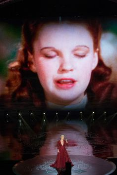 Pink performing Somewhere Over The Rainbow -- my favorite part of an evening filled with favorite parts. Academy Awards 2014, Oscars 2014, Judy Garland, Over The Rainbow, Wizard Of Oz, My Favorite Part, Blue Bird, Behind The Scenes, Cinema