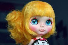 Sunny Blythe Marigold zvyk OOAK doll by Jodiedolls
