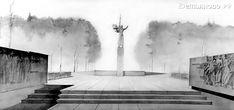 рассказ о том, как возник мемориал Победы в посёлке Демьяново.