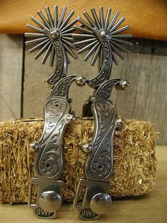 JW spurs from Custom Cowboy Shop