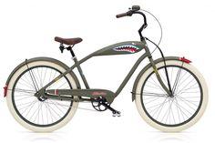 Just In Time For Shark Week.... // Electra Tiger Shark 3i bike