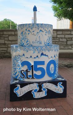 Cakeway to the West - Basilica of St. Louis view 1 #cakewaytothewest #stl250