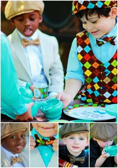 Little Man Boy Party Ideas