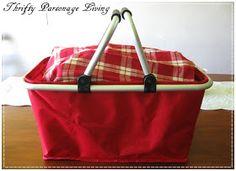 Thrifty Parsonage Living: DIY Picnic Basket