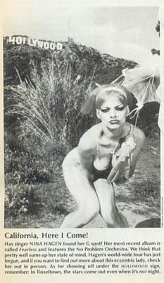 Kinds Of Music, My Music, Playboy, Nina Hagen, Punk Goth, Pretty Pictures, Pretty Pics, Independent Women, Post Punk