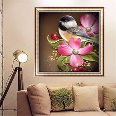 DIY 5D Diamond Painting Flower Animals Embroidery Cross Stitch Home Decor Craft