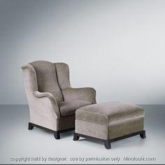 promemoria chair and ottoman