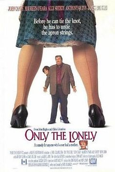 Only the Lonely is a 1991 romantic comedy-drama film written and directed by Chris Columbus. It starred John Candy, Maureen O'Hara, Ally Sheedy and Anthony Quinn. The plot is similar to the earlier award-winning film Marty. Quinn James, Anthony Quinn, Movie To Watch List, Good Movies To Watch, Movie List, Awesome Movies, 90s Movies, Movie Tv, Funny Movies