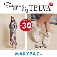 Look Summer Chic by TELVA  ¡¡ Compra ya estas ALPARGATAS AHORA con el 30% DTO. en las R E B A J A S M A R Y P A Z !!  ► http://www.telva.com/estaticas/compras-exclusivas/shoppingonlinetelva/streetstyle/   Compra ya tu ALPARGATA ÉTNICA 30% dto. aquí ► http://www.marypaz.com/alpargata-de-piel-suela-flatform-con-cordones-0210394451-73772.html