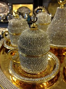 Swarovski crystal coated cup - This Swarovski crystal coated cup is specifically designed to serve Turkish coffee espresso. The entire handmade serving set is made out of copper ...