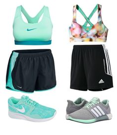 """Nike vs. Adidas"" by love1d101 ❤ liked on Polyvore featuring adidas and NIKE"