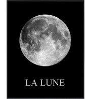 """Księżyc na czarnym niebie """"LA LUNE"""""""