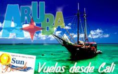 #Viaje en Pareja desde #Cali a #Aruba y disfruta la mejor #tarifa en #tiquetes y hotel en la isla, 4 días y 3 noches. #Reserveplandeviaje  desde #Cali  o en www.sunbeachcali.com