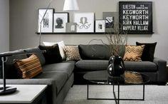 couch kaufen wohnzimmer möbel design sofa schwarz ecksofa