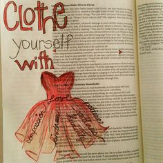 Clothe yourself with...