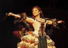 Operafantomet: phantoming, Nine favourite Aminta costumes (in no particular...
