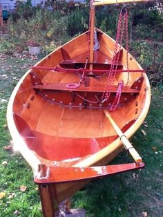 Esteemed duck boat plans see here Wooden Boat Building, Boat Building Plans, Boat Plans, Wooden Boats For Sale, Wood Boats, Small Sailboats, Duck Boat, Boat Projects, Boat Art