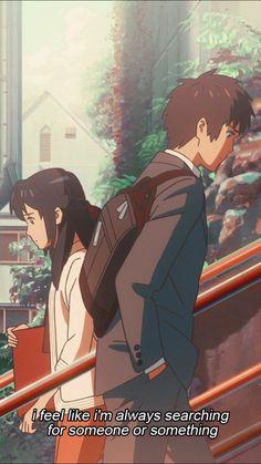Anime Ai, Film Anime, Art Anime, Manga Anime, Anime Backgrounds Wallpapers, Anime Scenery Wallpaper, Animes Wallpapers, Cute Wallpapers, Kimi No Na Wa