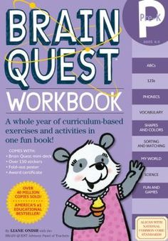Brain Quest Workbook: Pre-K Age range: 3 - 5 Years