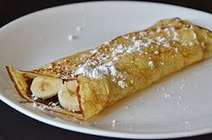 Banana, Nutella Crepes) Is there anything better than this? Nope, dont think so.