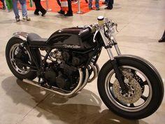Honda CB750 Cafe Racer by BohemianGuy, via Flickr