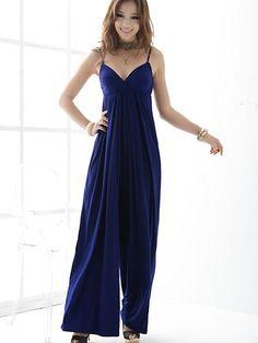 Modern Fashion V Neck Jumpsuit on BuyTrends.com