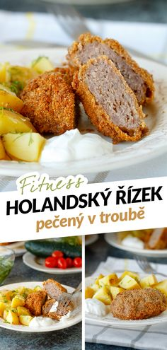 Šťavnatý řízek z mletého masa se sýrem se sice jmenuje holandský, ale jedná se o ryze české jídlo. Holandský řízek je s Holandskem spojený pouze holandským sýrem, který se přimíchává do mletého masa. Tradiční holanďák ovšem nepatří mezi dietní jídla, protože je z tučného vepřového masa a smaží se v trojobalu. Vepřové jsem vyměnila za libové hovězí, na trojobal jsem použila celozrnnou mouku a celozrnnou strouhanku a místo smažení je upekla v troubě. French Toast, Breakfast, Recipes, Food, Diet, Morning Coffee, Recipies, Essen, Meals