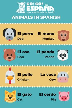 Animals in Spanish