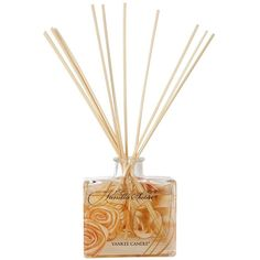 Yankee Candle Signature Reed Diffuser (€18) ❤ liked on Polyvore featuring home, home decor, home fragrance, reed diffuser set, flower stem, reed diffusers, scented reed diffuser and flower diffuser