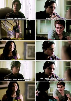 Riverdale 1×10. I have a question-if Jughead and Betty (+Veronica and Archie) don't work out in the end, would you ship Veronica and Jughead?