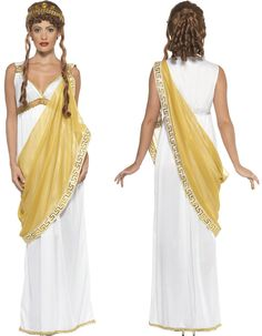 greek  women clothing ancient | Clothes, Shoes & Accessories > Fancy Dress & Period Costume > Fancy ...
