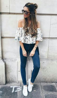Perfect And Fantastic Trending Summer Outfits 2017 96 Look Fashion, Fashion Clothes, Trendy Fashion, Womens Fashion, Fashion Black, Fashion Spring, Fashion 2017, Ladies Fashion, Fashion Trends