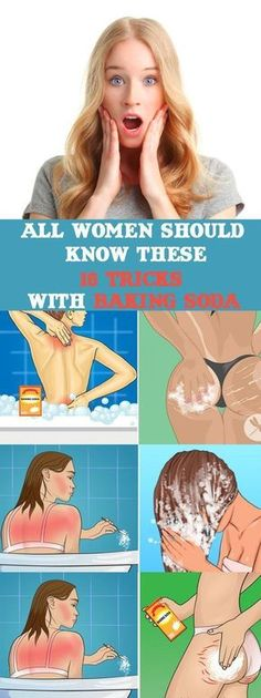 Every Woman Should Know These 15 Tricks With Baking Soda #bakingsoda #health #remedies #skin #beauty #DIY