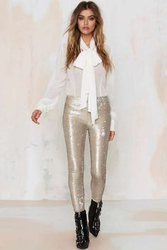 Goldie but Goodie Sequin Leggings