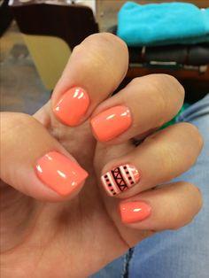 Aztech, nails, nail art, nail design, manicure, shellac, gel ^^^^dem Aztech nails