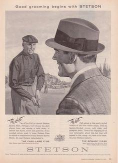 Publicidad Stetson 1958