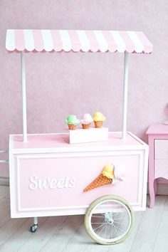 Purchase Little Girl Backdrop Sweet Ice Cream Cart Photography Background Kid Infant Child Toddler Artistic Portrait Indoor Photo Shoot Studio from Andrea Marcias on OpenSky. Share and compare all Electronics. Ice Cream Stand, Ice Cream Cart, Ice Cream Theme, Diy Ice Cream, Ice Cream Parlor, Cake Smash Backdrop, Party Kulissen, Vintage Ice Cream, Baby Shower Backdrop