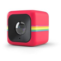 Polaroid Cube HD 1080p Lifestyle Action Video Camera (Red) ** Read more reviews of the product by visiting the link on the image.