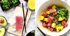 Ahi tuna poke and mango salad: What To Eat For Dinner This Week