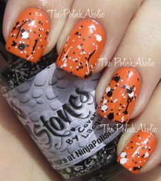 The Perfect Halloween nails I think!